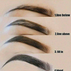 Eyebrow Creation Process | Eyebrow Shaping in Odessa, TX